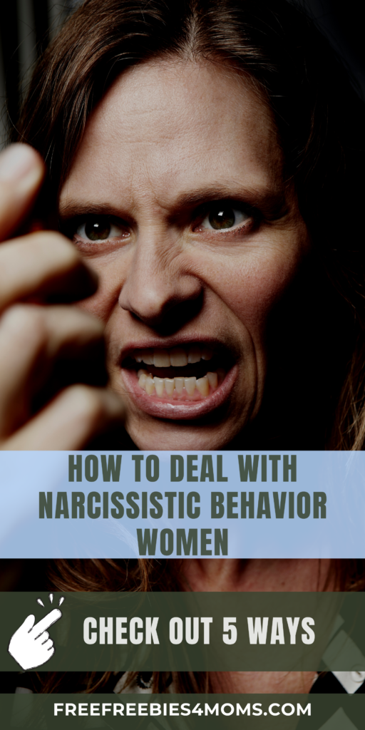 5 Ways On How to Deal With Narcissistic Behavior Women